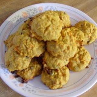 Healthy Honey Carrot Cookies.