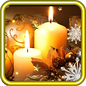 New Year Candles HQ LWP