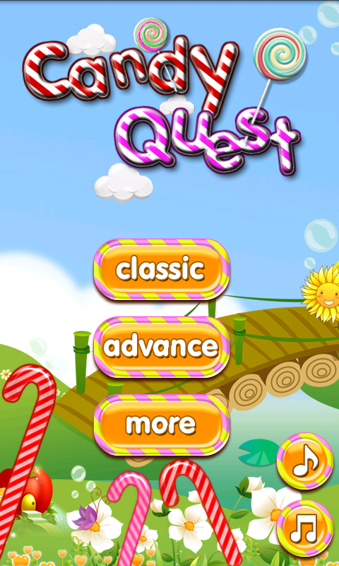 Candy Quest - screenshot