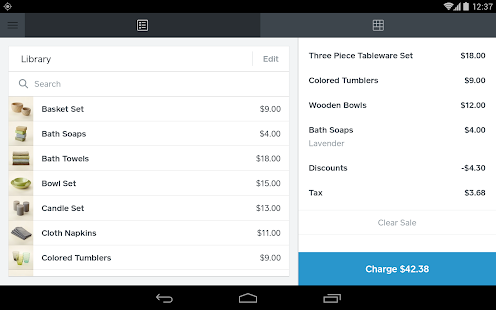 Square Register - POS Screenshot 16