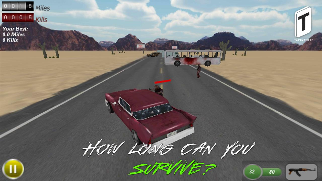 Drive with Zombies 3D- screenshot
