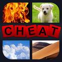 4 Pics 1 Word Cheats & Answers icon