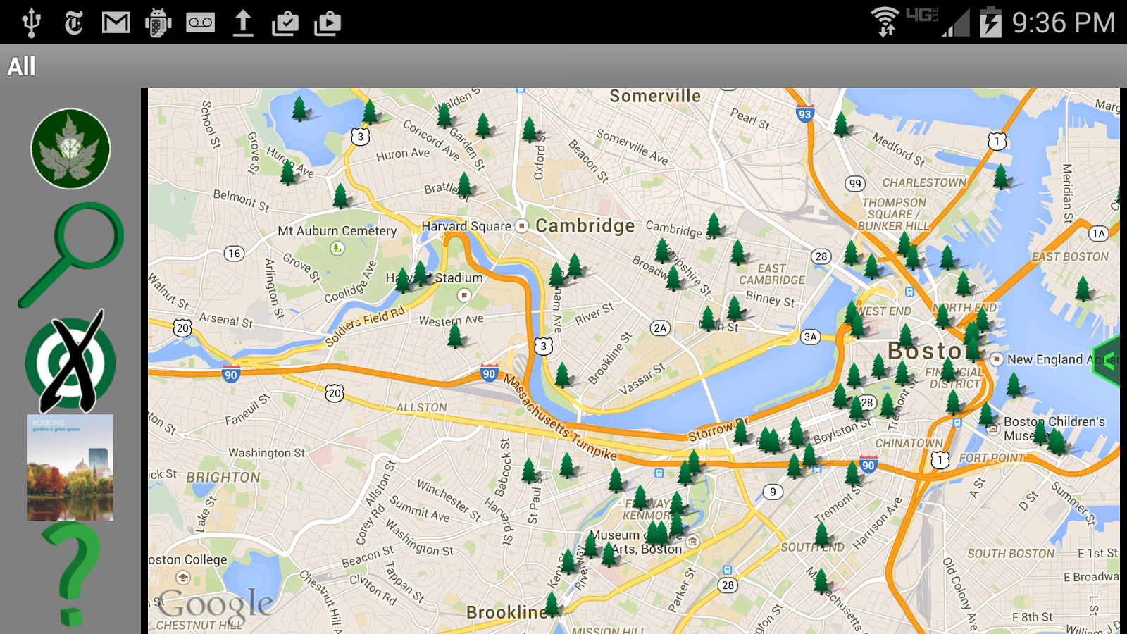 Green Spaces: Boston - screenshot