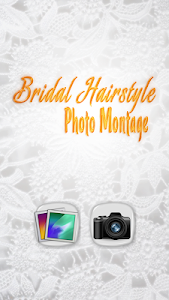 Bridal Hairstyle Photo Montage screenshot 1