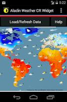 Screenshot of Weather Widget Czech Republic