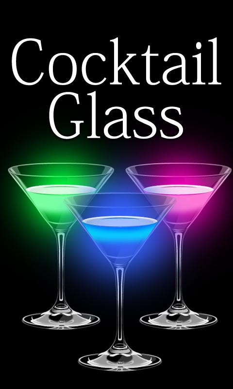 Cocktail Glass Live Wallpaper - screenshot