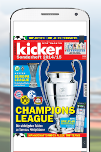 kicker eMagazine – Miniaturansicht des Screenshots