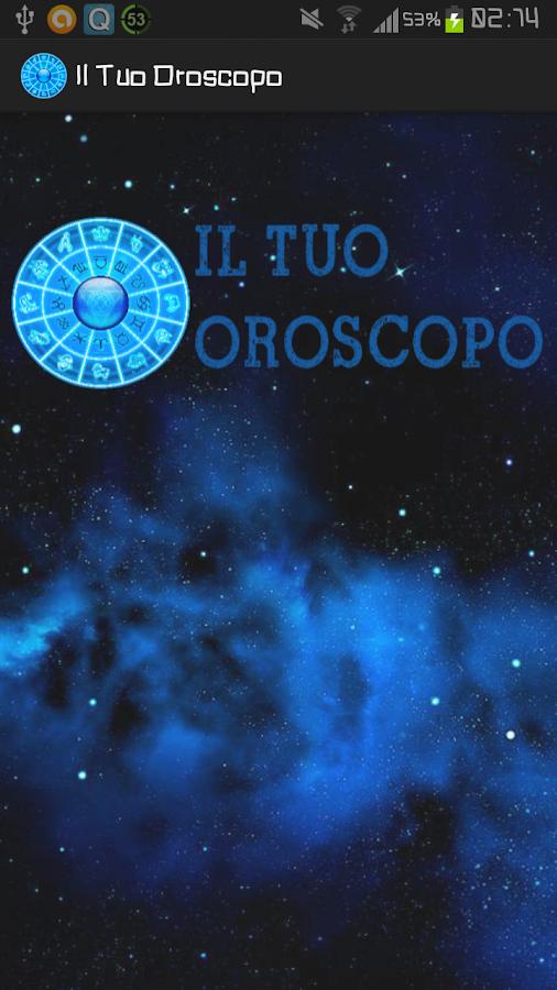 Il Tuo Oroscopo - screenshot