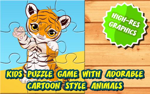 16 Kids Puzzles: Cute Animals