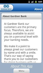 Gardner Bank - screenshot thumbnail
