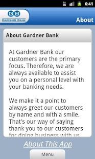 Gardner Bank - screenshot thumbnail