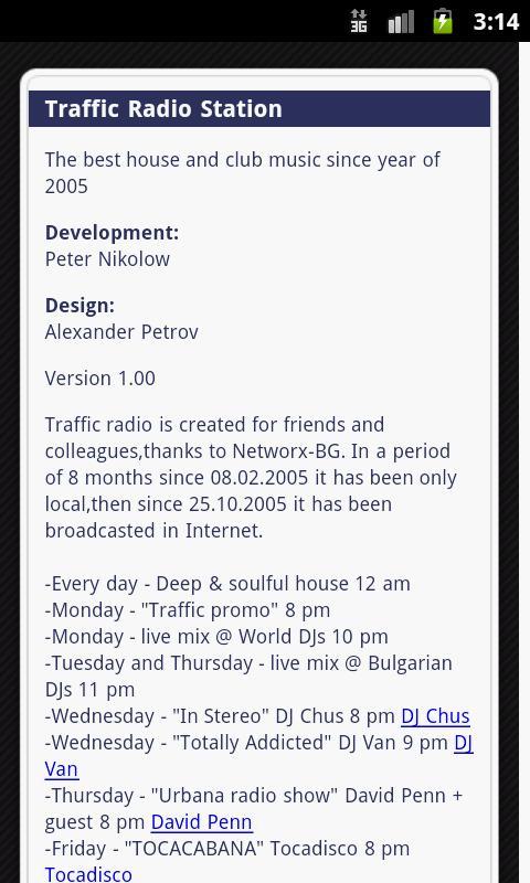 Traffic Radio Station- screenshot
