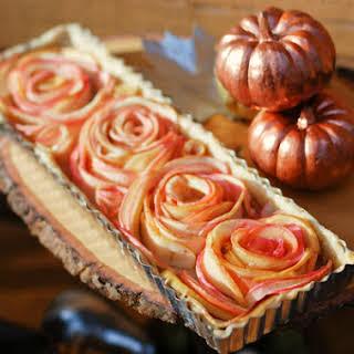 Rose Apple Tart.