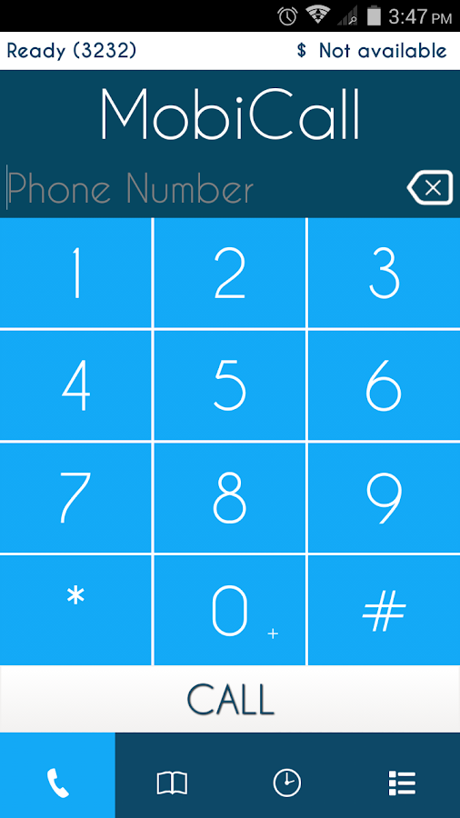PhonixDialer- screenshot