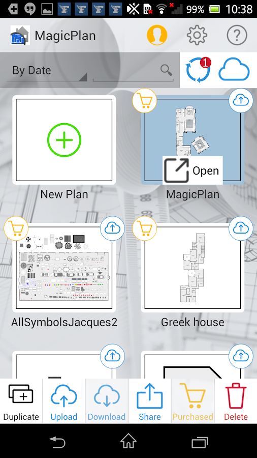 MagicPlan- screenshot