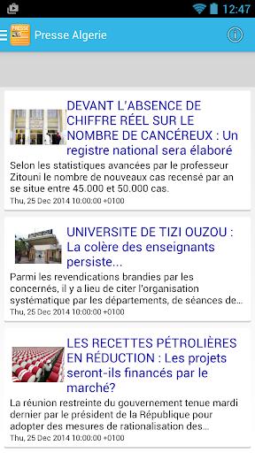 Presse Algerie DZ