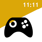 全画面アプリ 対応時計 (無料版)