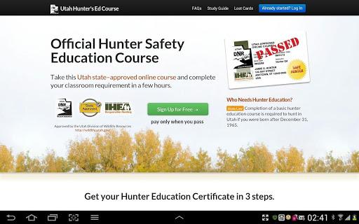 Hunters Ed Gun Safety 4 Utah