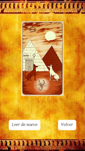 Tarot egipcio de la Fortuna - screenshot thumbnail