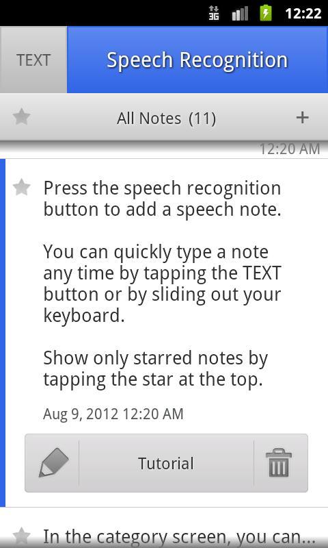 ListNote Pro Notepad- screenshot
