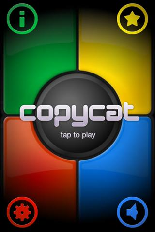 CopyCat - Simon Says Game- screenshot