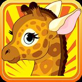 Baby Giraffe Little Zoo Run