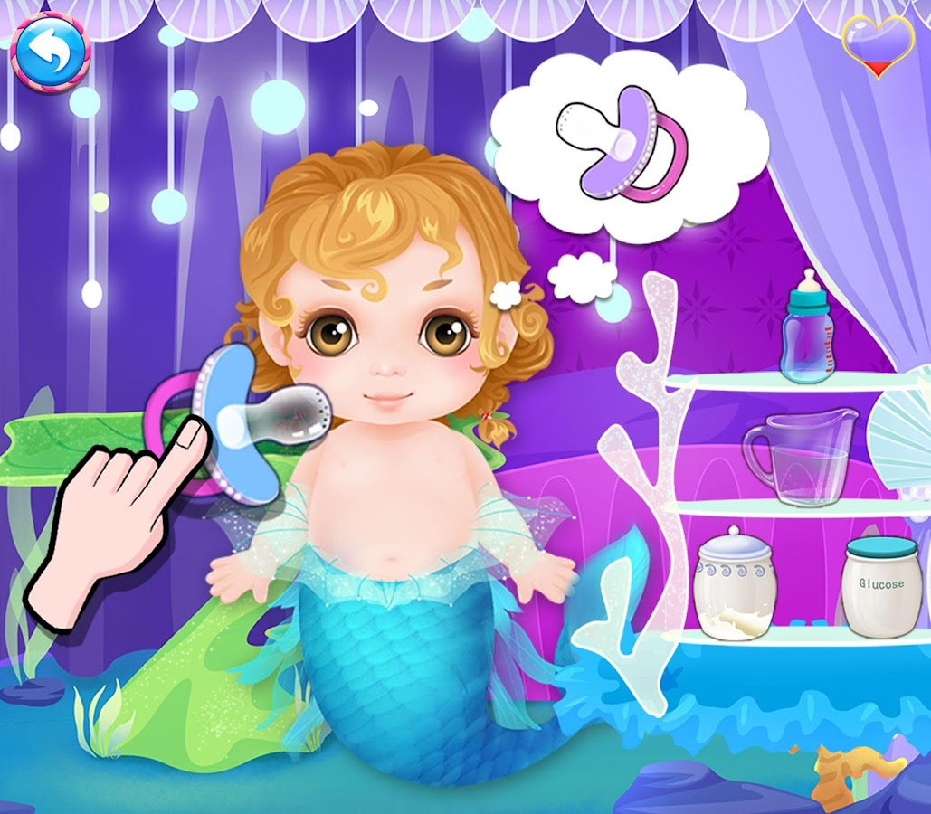 Mommy Mermaids Newborn Baby Apl Android Di Google Play