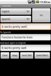 Translate - screenshot thumbnail