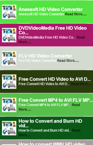 HD FLV VIDEO Guide