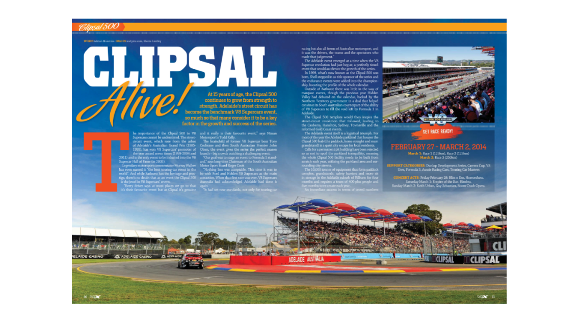 V8X Supercar Magazine- screenshot