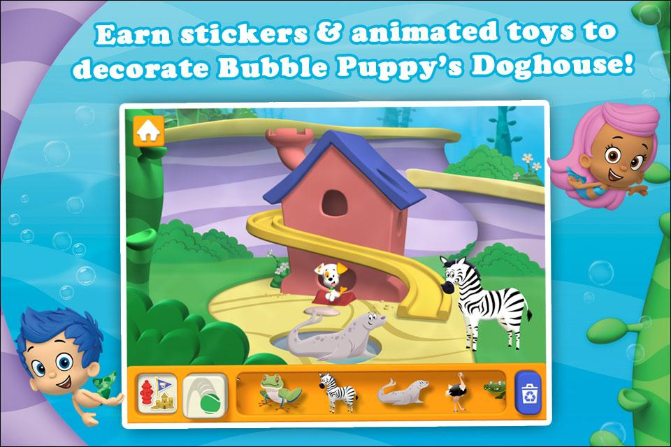 Bubble guppies animals android apps op google play for Bubble guppies fish