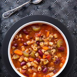 Olive Garden Pasta e Fagioli Soup Copycat