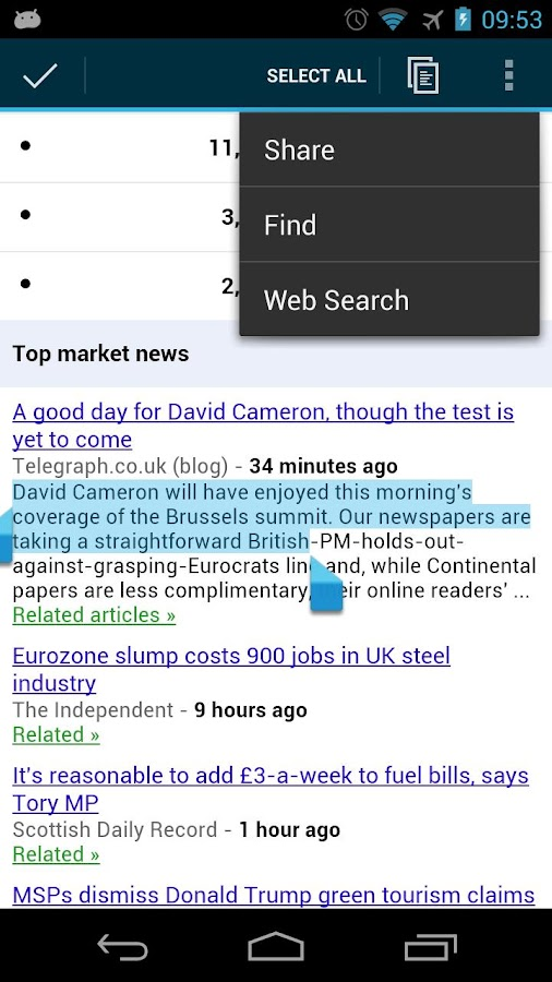 UK Newspapers Online - screenshot