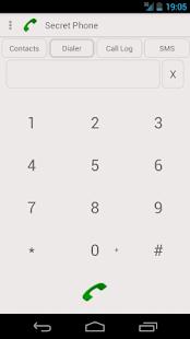 Secret Phone (free) - screenshot thumbnail