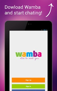 Wamba - meet women and men- screenshot thumbnail
