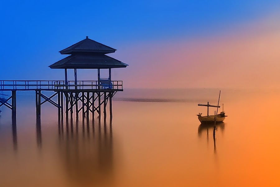 Kenjie by IkanHiu Pegel Pegel - Landscapes Sunsets & Sunrises