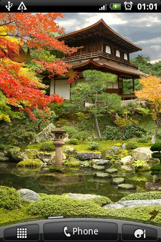 Autumn Zen Garden Free wallppr