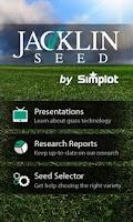 Screenshot of Jacklin Seed App