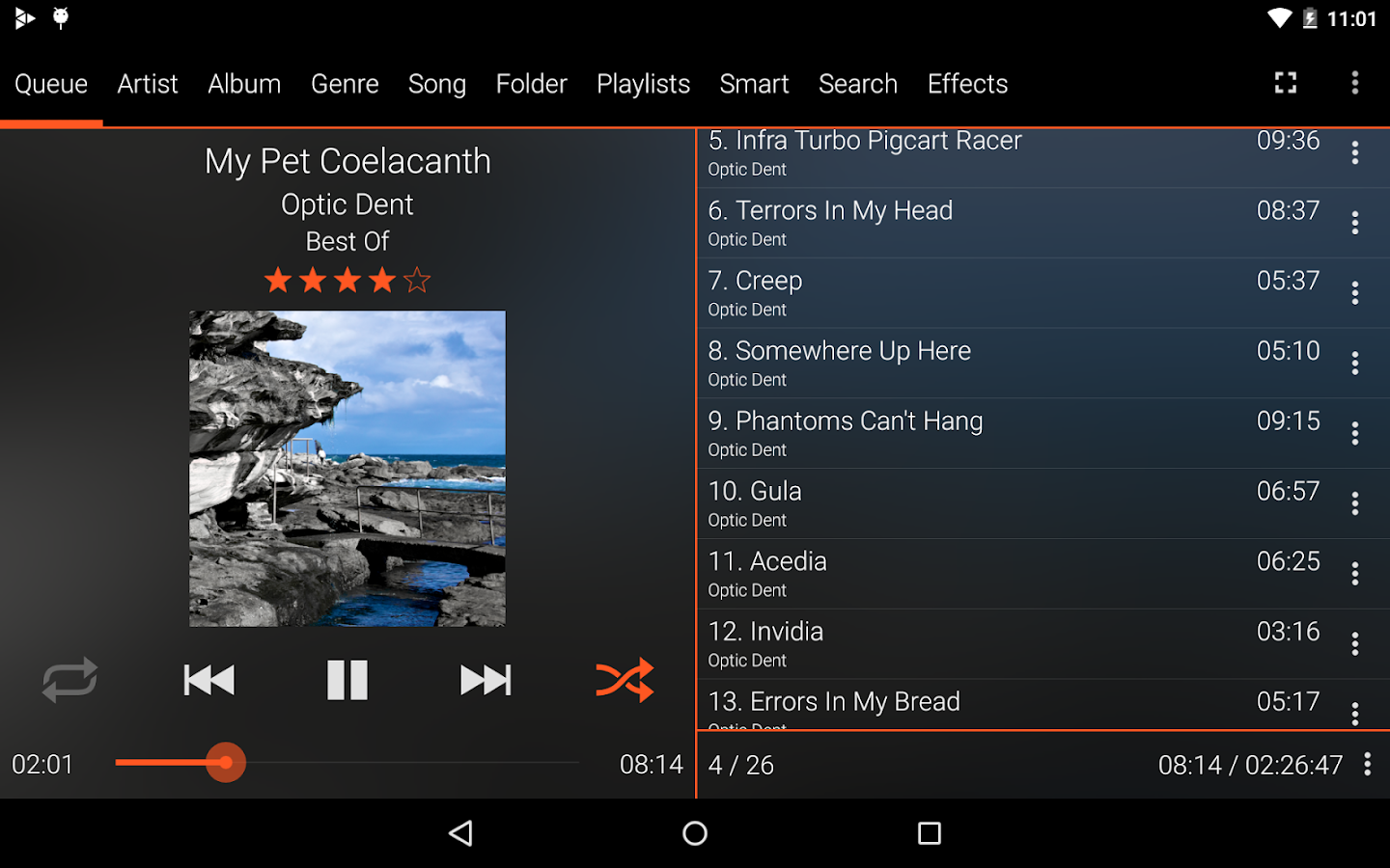 Music Player : GoneMAD (Trial) - screenshot