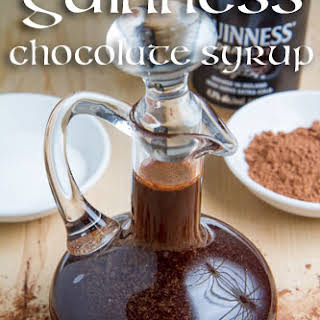 Guinness Chocolate Syrup.