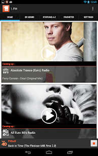 1.FM Online Radio Official app - screenshot thumbnail