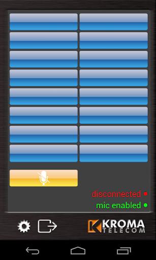 Kroma Virtual Intercom Panel