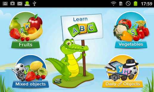 Kids Fruits Alphabets Musical - screenshot thumbnail