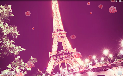 romantic paris live wallpaper android apps on google play