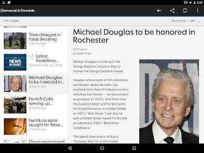 Democrat and Chronicle - screenshot thumbnail
