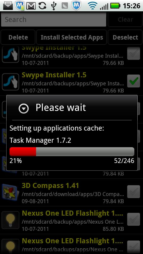 Installer - Install APK - screenshot