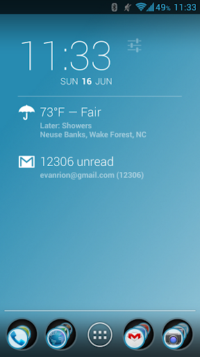 Jelly Bean Blue Sky Apex Theme