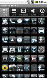 iPhone VB Theme - screenshot thumbnail
