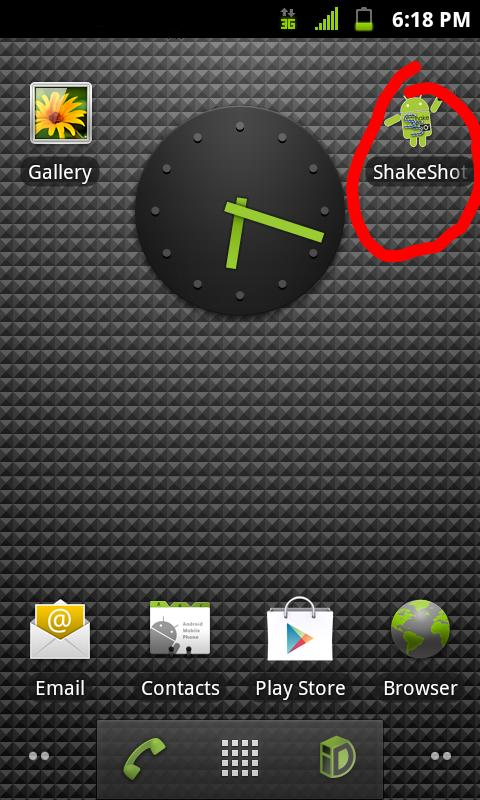 Screenshot ShakeShot Trial- screenshot