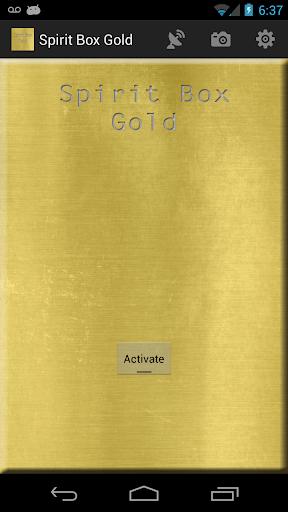 Spirit Box Gold and EMF Sensor